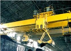E.O.T Cranes With Grab & Bucket Camera